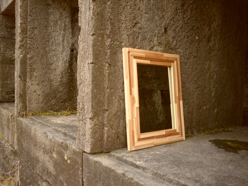 Mixed Wood Mirror